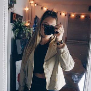 Michael Kors beige Moro jacket